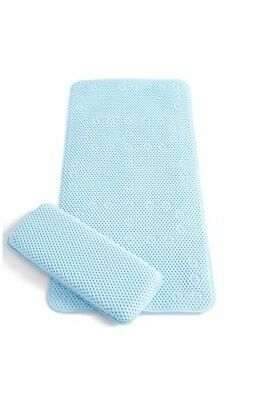 Clevamama Extra Long NonSlip Bath Mat & Kneeling Cushion