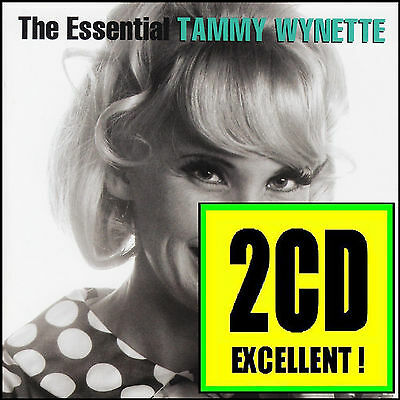 TAMMY WYNETTE (2 CD) THE ESSENTIAL ~ GREATEST HITS / BEST OF 70's COUNTRY *NEW*