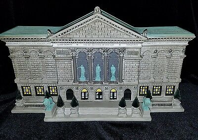 Department 56 Christmas In The City Art Institute Of Chicago 59222 & Box
