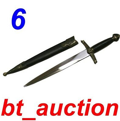 New Fantasy Medieval Crusader Knight Steel Sword (A606)0