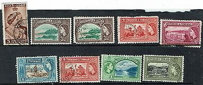 Trinidad  Stamps   small QE2 collection