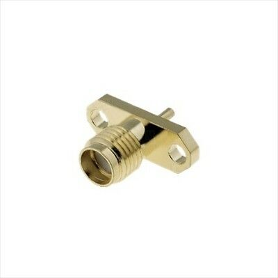 SMA socket stright female SMT mount SMA-22
