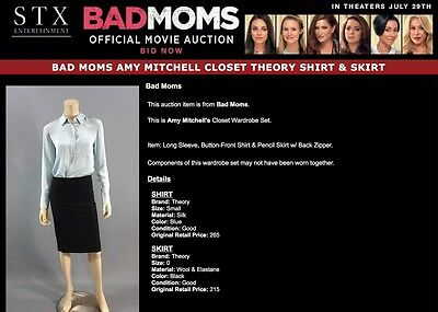 Bad Moms Mila Kunis Shirt Skirt With Coa
