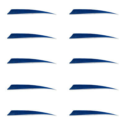 10 Pieces Arrow Fletching Arrow Feathers Right Wing Shield Cut Target 5 Inch