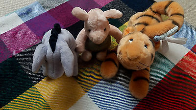 Gund Winnie the Pooh - Tigger, Piglet and Eeyore - New Condition