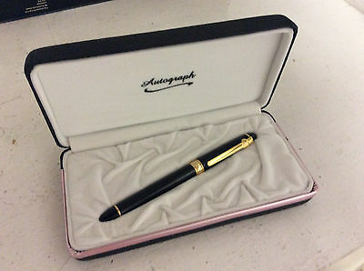 Autograph Writing Pen NEW BOXED
