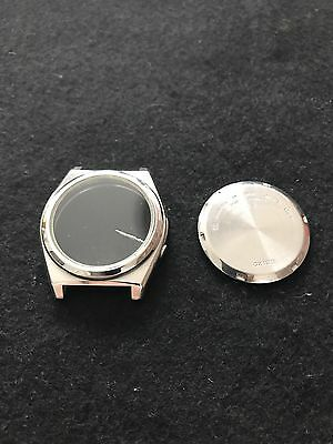 Vintage Seiko 5 Stainless Steel Watch Case and Caseback