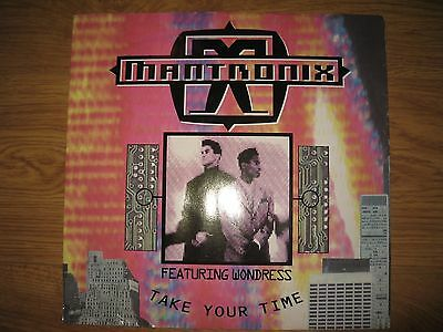 Mantronix Take Your Time 1990 12 inch vinyl release Dance