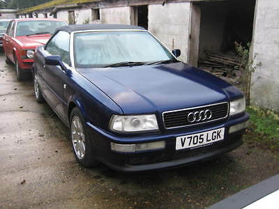 Audi 80 2.6 V6 auto 83,000 miles dark blue with blue leather walnut interior