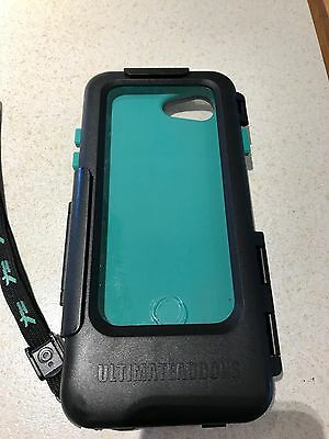 Tough, waterproof iPhone7 case for motorcycle + ball adaptor, extender & lead