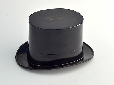 Vintage Deco Stratton Top Hat Stud Box Possibly Bakelite