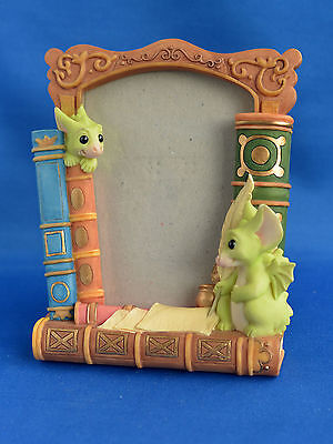 Rare 1999 Pocket Dragon Easel Photo Frame: Letter Home
