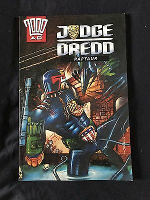 Raptaur Judge Dredd 2000 AD Graphic Novel