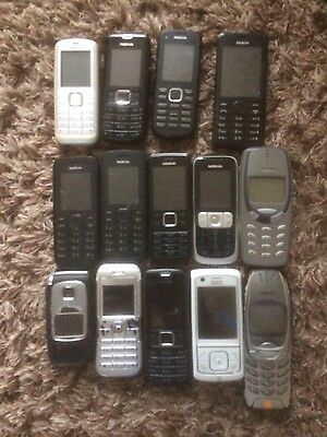 Nokia mobile phone joblot faulty broken