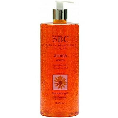 SBC Arnica Skincare Gel - 1000ml - 1 Liter ( Brand New & Genuine)