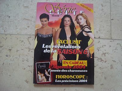 CHARMED Holly Marie Combs Alyssa Milano SERIE CULTE3 magazine book + Agenda