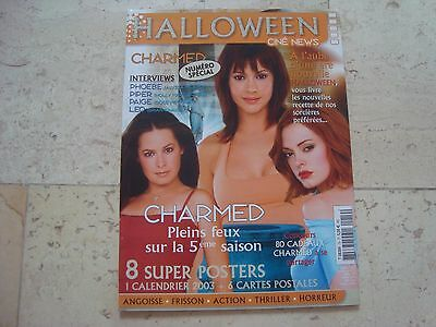 HALLOWEEN Charmed SPECIAL magazine +CALENDAR 8 Posters 6 postcards Alyssa Milano