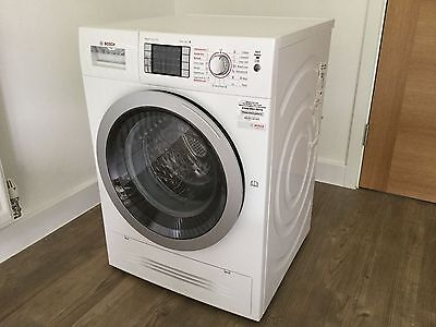 Bosch WVH28422GB Washer Dryer White