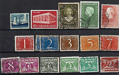 netherlands clearance of small lot of stamps