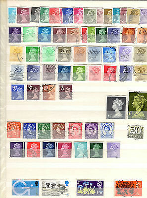 Mix of Great Britain Commemorative & Definitive Stamps - Used/Franked (M)