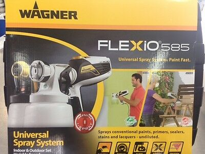 Spray Gun Wagner Flexio 585 Universal Spray System