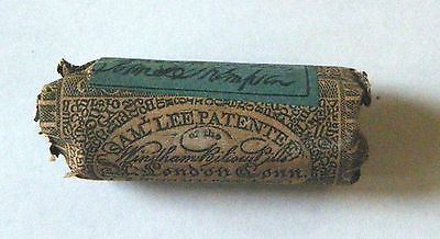 1850s FULL PILL BOX Sam Lee Windham Bilious Pills London CT 1st US Patented Med