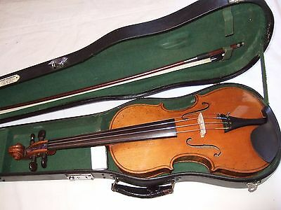 Fine 4/4 copy of Stradivari by Hoff  playing order beautiful tone new strings