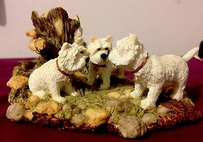Westhighland White Terriers Ornament By Regency Fine Art