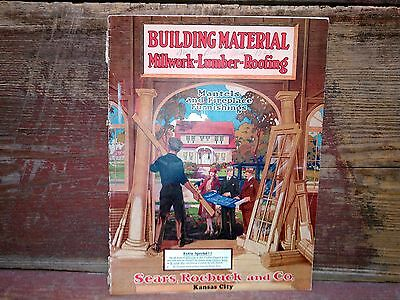 1928 Building Material Millwork and Roofing Sears Roebuck Catalog - K.C. - Rare