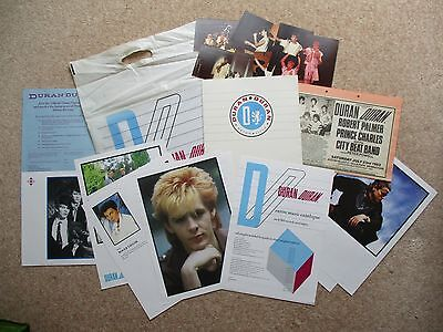 Duran Duran Aston Villa FC  July 1983 Official programme, Photographs & Advert