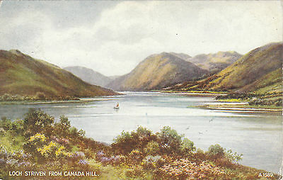 Artist Drawn, Loch Striven From Canada Hill, Nr ROTHESAY, Isle Of Bute - Parr