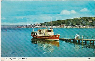 The Gay Queen - Boat, ROTHESAY, Isle Of Bute