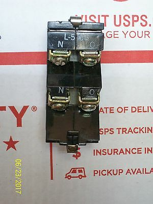 Westinghouse Auxiliary Contact L56B 600V Max 2 NO Poles