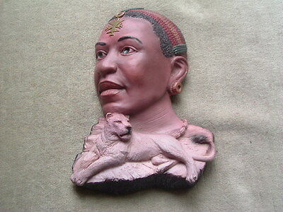 """CWS Dave Grossman Creations - """"The Legacy Series"""" - """"African Queens"""" Wall Decor"""