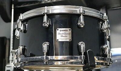 Yamaha 7x14 Birch Custom Absolute Nouveau Snare with Protechtor Case
