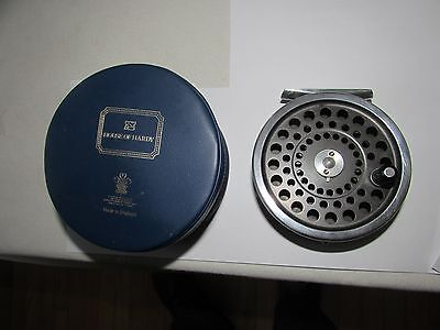 V good original vintage hardy alnwick marquis 10  trout fly fishing reel + case