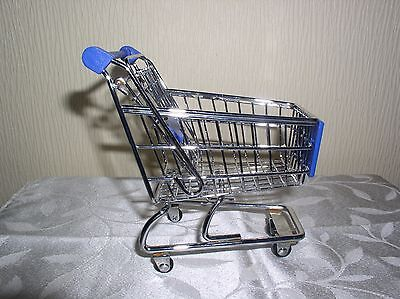 Miniature Supermarket Shopping Trolley  - Child's  Play Toy