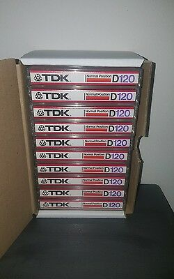 Tdk D120 (×10) : 1982 : Made In Japan