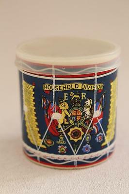 Household Division Regimental Drum Ceramic Jam Pot Elsenham Jam