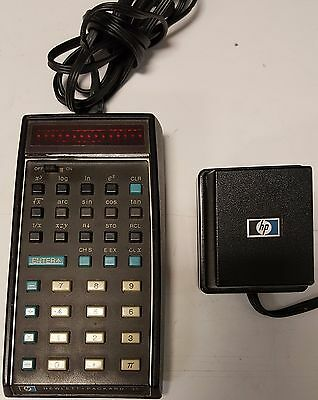 Vintage Mid 1970's Hp 35 Calculator Working Good Condition Serial 1302A 76959