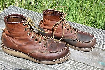 Red Wing Leather Chukka Work Chore Boots Size 9 B