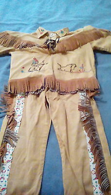 Child's Indian Costume, Vintage 1950's or 1960's, size 6