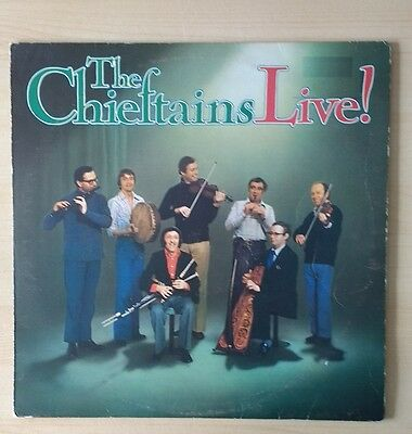"Record. The Chieftains. ""live"" 1977"