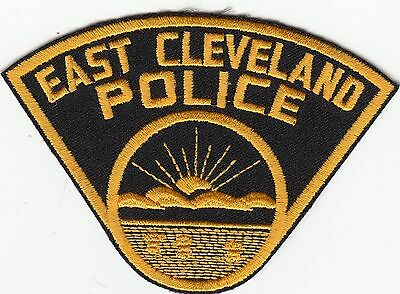 East Cleveland Police Patch Ohio Oh