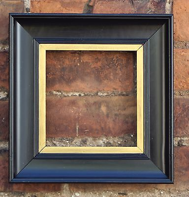 "Late C19th Ebonised & Parcel Gilt Picture Frame. Sight Size 6 5/8"" x 6 1/4""."
