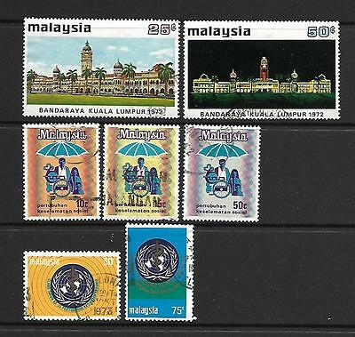 Malaysia, 1973 complete used  (2 scans)