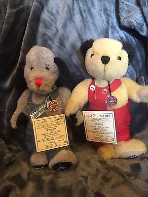 Rare And Special Edition 50 Year Anniversary Of Sooty And Sweep