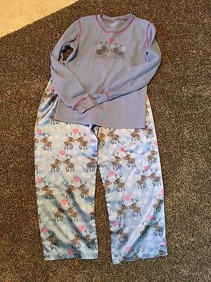 American Girl Girls Reindeer Pajamas in Size 14/16