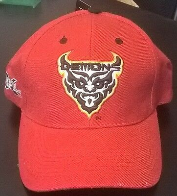 Xfl Vintage San Francisco Demons Football Snapback Red Adult Hat Cap Brand New