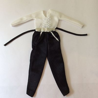 Barbie 1981 Fashion Favorites Black Tie Affair #1935 vintage dolls clothes